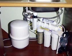 Установка фильтра очистки воды в Воронеже, подключение фильтра очистки воды в г.Воронеж